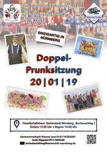 Doppel-Prunksitzung (Gartenstadt)