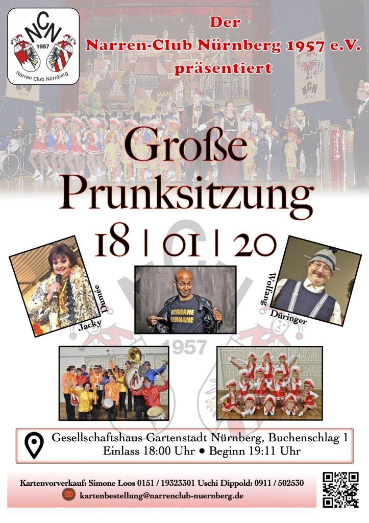 Prunksitzung @ Gesellschaftshaus Gartenstadt